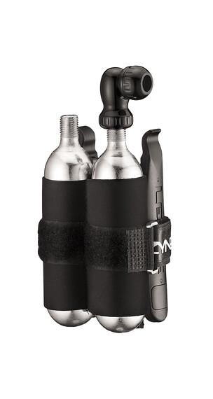 Lezyne Twin Drive Kit Pomoka na naboje CO2 25g czarny